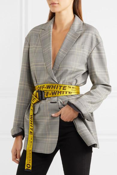 forretning til salg forudbestille præsentere Industrial embroidered canvas belt