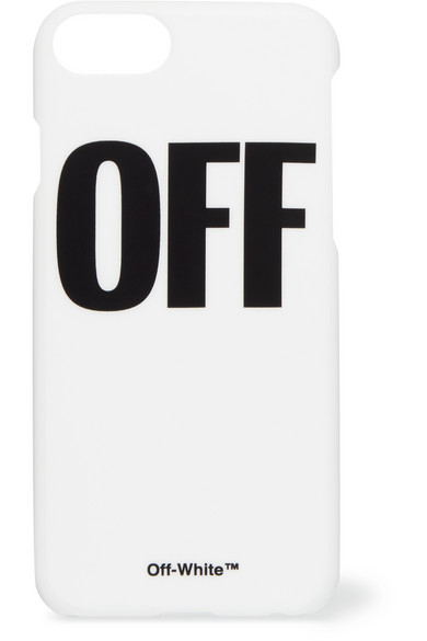 Off-White - Printed Acrylic Iphone 7 Case