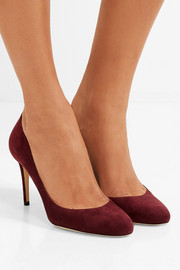 Jimmy Choo Bridget 85 suede pumps