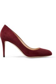 Bridget 85 suede pumps