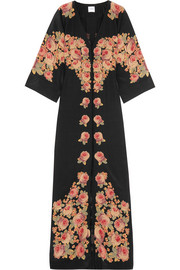 Bolce floral-print silk dress