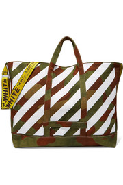 Off-White Printed canvas tote