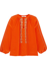 Vanessa Bruno Honor embroidered silk blouse