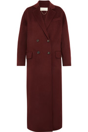 Vanessa Bruno Frisbane double-breasted wool and cashmere-blend coat