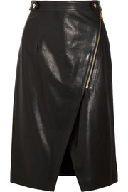 Vanessa Bruno Habby leather skirt