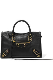 Balenciaga City small textured-leather tote