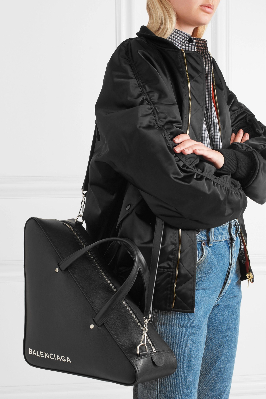 Balenciaga Duffle medium leather tote