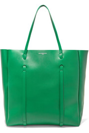 Shopper medium leather tote