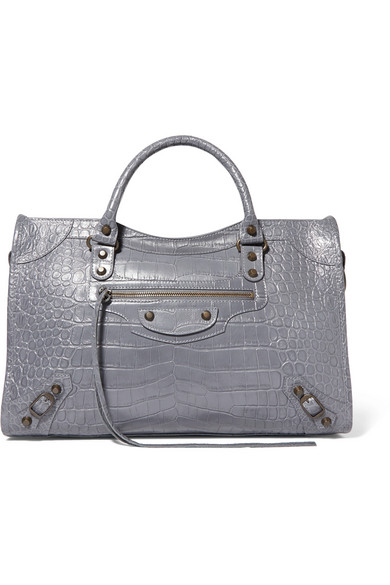 70c947f4e8f Balenciaga | Classic City croc-effect leather tote | NET-A-PORTER.COM