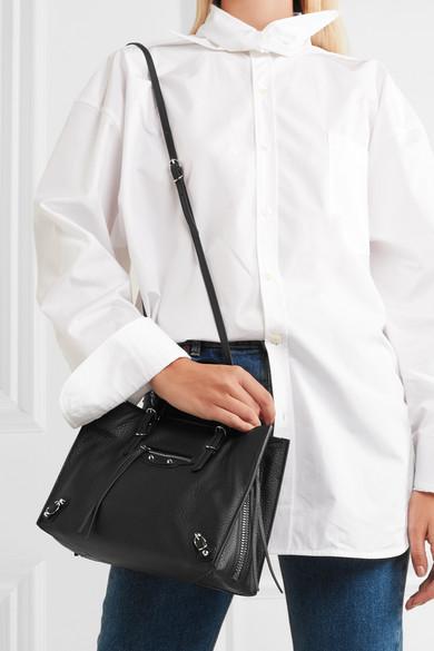 Balenciaga. Papier A6 small leather tote.  1 8dcb2d385d6bf