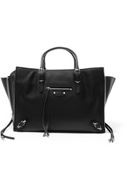 Balenciaga Papier A6 small leather tote