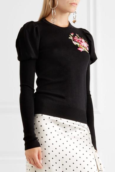 Dolce & Gabbana Bestickter Wollpullover