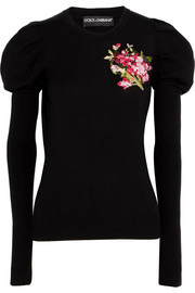 Dolce & Gabbana Embroidered wool sweater