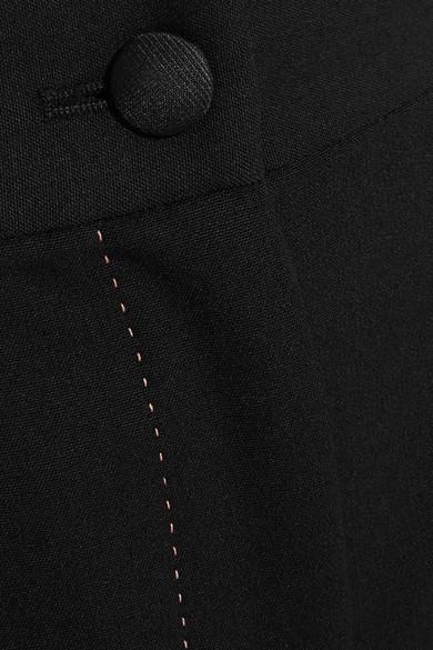 Dolce & Gabbana Schlaghose aus einer Wollmischung mit Stretch-Anteil