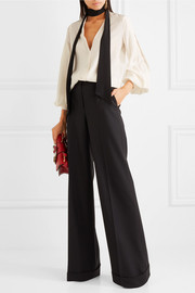 Dolce & Gabbana Stretch wool-blend flared pants