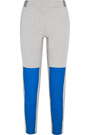 Blixen paneled cotton-blend jersey track pants