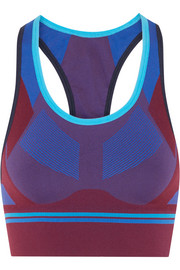 Hustle stretch-knit sports bra