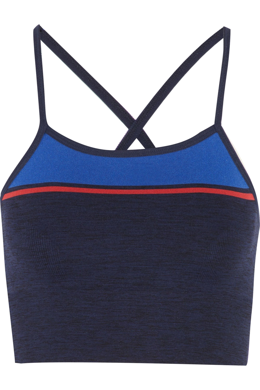LNDR Yoga stretch-knit sports bra