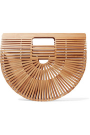 Cult Gaia Ark small bamboo clutch