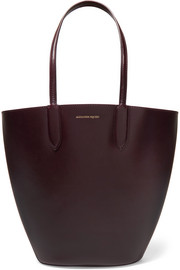 Alexander McQueen Basket leather tote