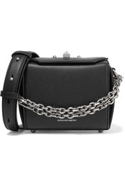 Box Bag textured-leather shoulder bag