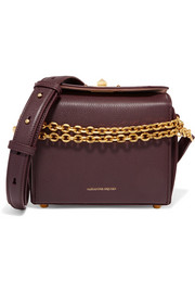 Alexander McQueen Box Bag 19 textured-leather shoulder bag