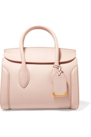 Alexander McQueen Heroine medium textured-leather tote