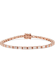 18-karat rose gold diamond bracelet