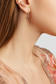 Anita Ko Safety Pin 18-karat rose gold earring