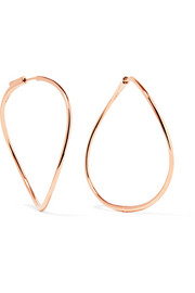 18-karat rose gold earrings