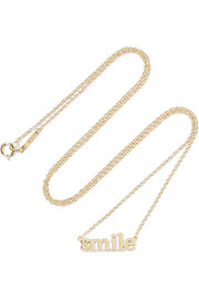 Jennifer Meyer Smile 18-karat gold necklace
