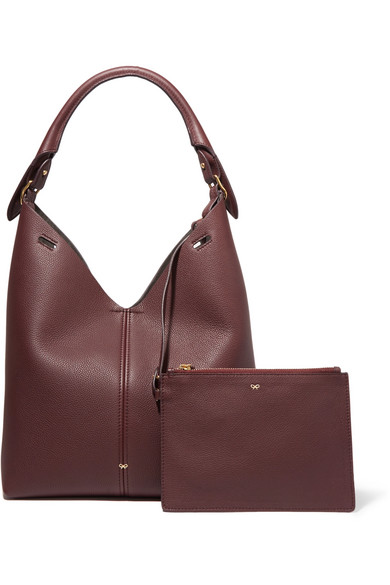 Anya Hindmarch Bucket Little Dead Of Textured Leather