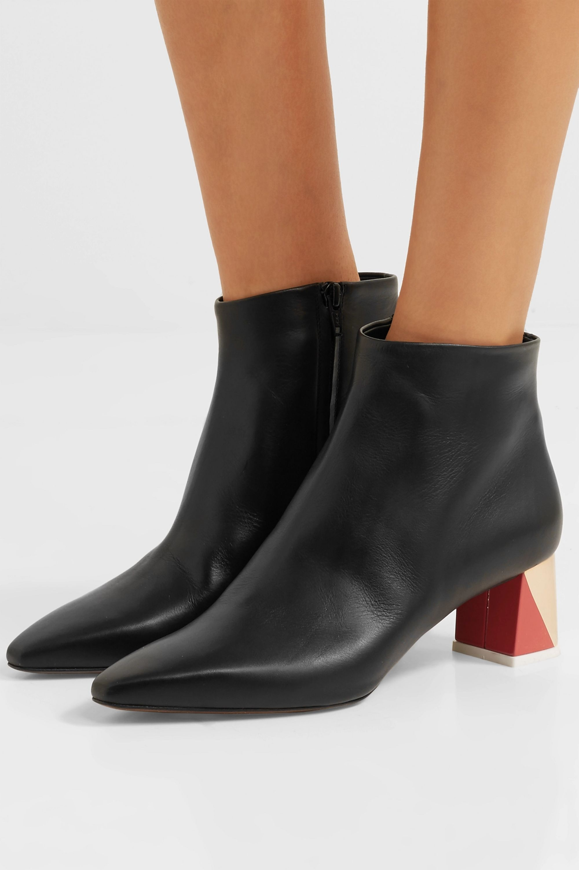 Neous Leather ankle boots