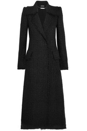 Alexander McQueen Metallic tweed coat