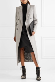 Alexander McQueen Brushed-wool coat