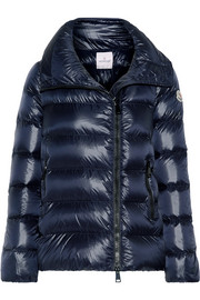 Salix quilted shell down jacket