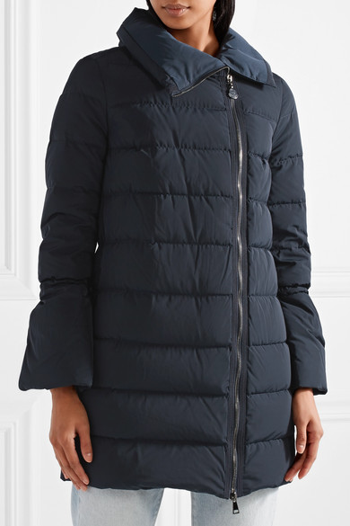 Moncler. Lobelia quilted shell down coat