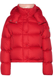 Moncler Paeonia quilted cotton-canvas down coat