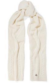 Moncler Chunky-knit scarf