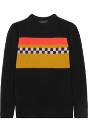 The Elder Statesman Gofa intarsia cashmere sweater