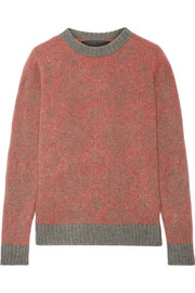 Southwest two-tone cashmere sweater