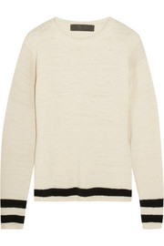 The Elder Statesman Flaco striped cashmere sweater
