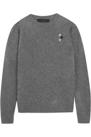 The Elder Statesman Flying Crosses cashmere sweater