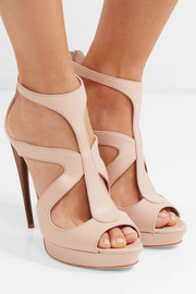 Alexander McQueen Leather platform sandals