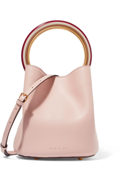 6c021056a Marni | Pannier leather bucket bag | NET-A-PORTER.COM
