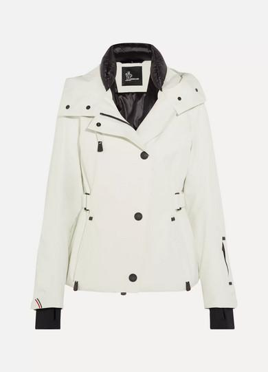 Moncler Grenoble. Ancelle hooded ski jacket