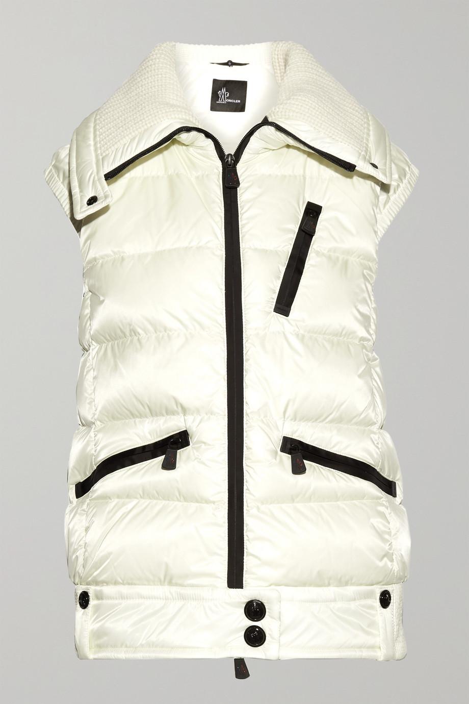Moncler Grenoble Les Bains quilted down vest