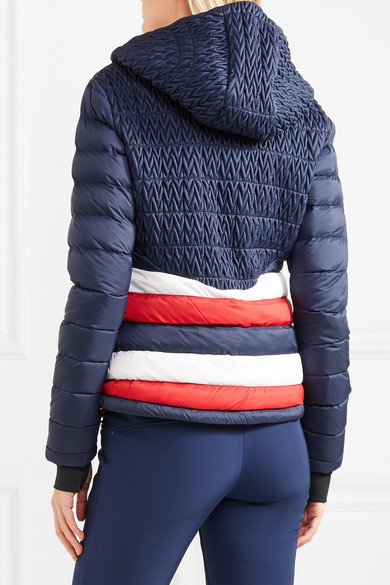 Vale hooded quilted down ski jacket. £333. Play 8b6bf6c73
