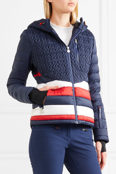 Vale hooded quilted down ski jacket 2c84d9151