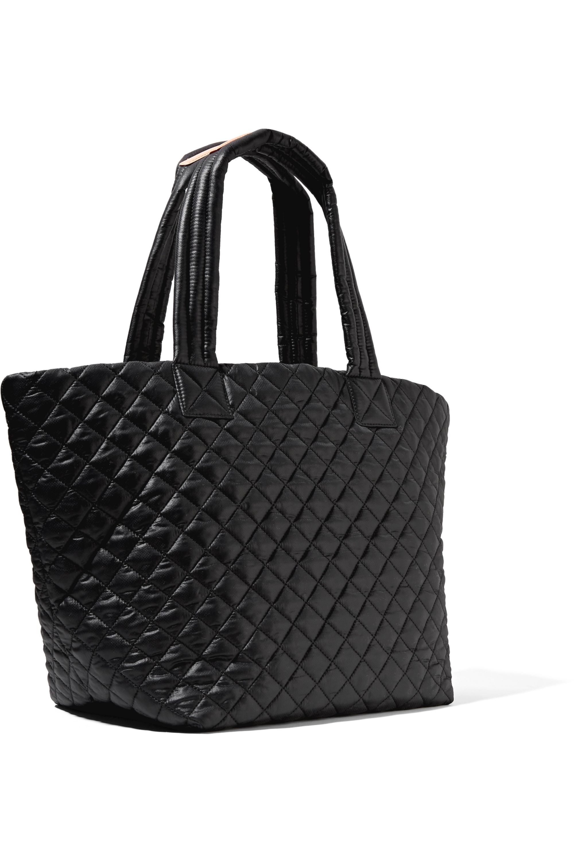 MZ Wallace Metro quilted shell tote
